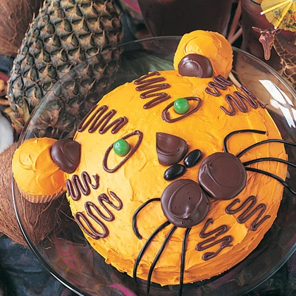Tiger Cake Recipe