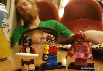 Lego on train home