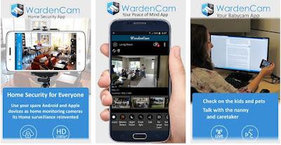 Cara Membuat Kamera CCTV dengan HP Menggunakan Aplikasi WardenCam