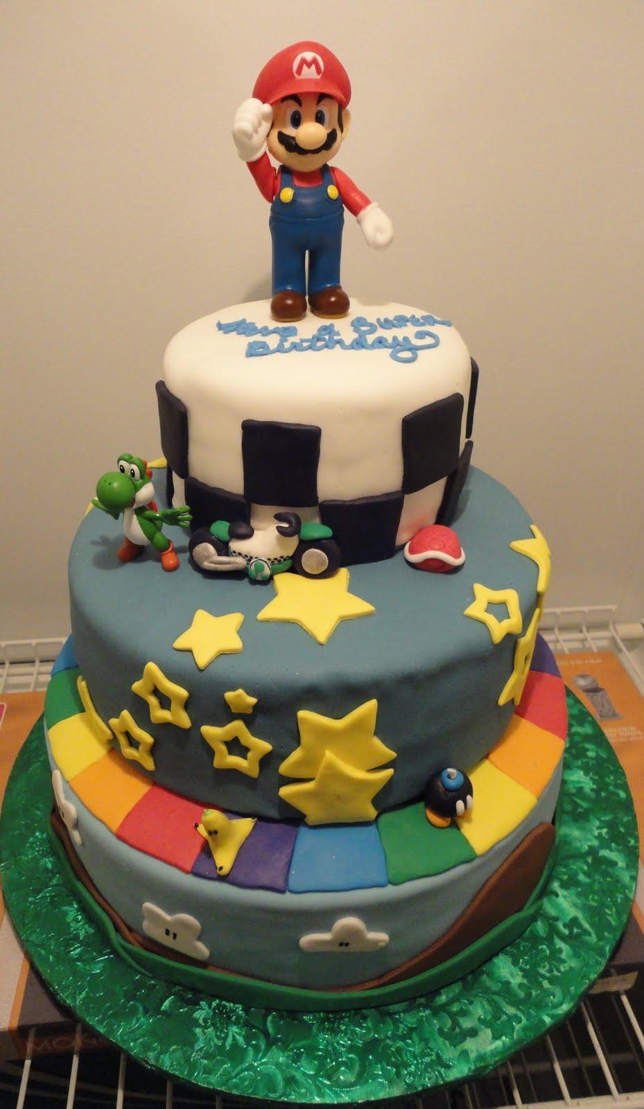 Pink Sugar Cupcakes Mario Kart Cake