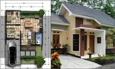desain rumah kecil sederhana terbaru