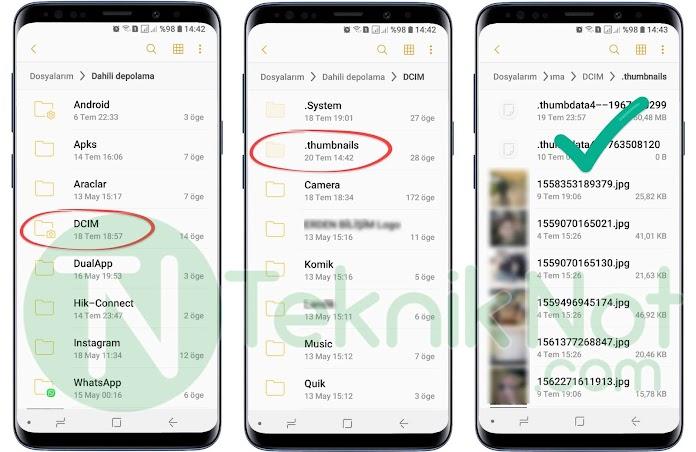 Android Silinen Fotoğrafları Geri Getirme