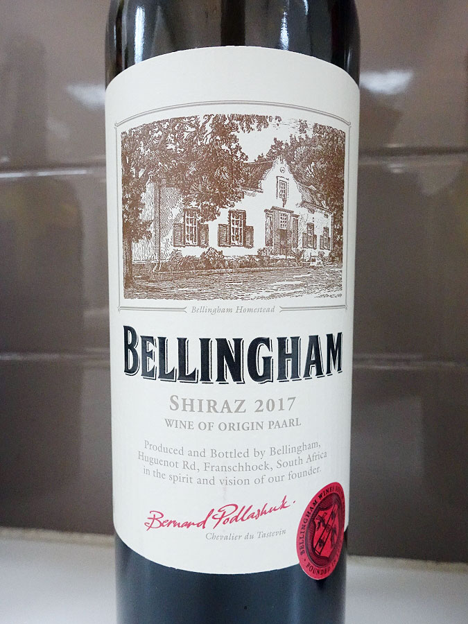 Bellingham Homestead Shiraz 2017 (89 pts)