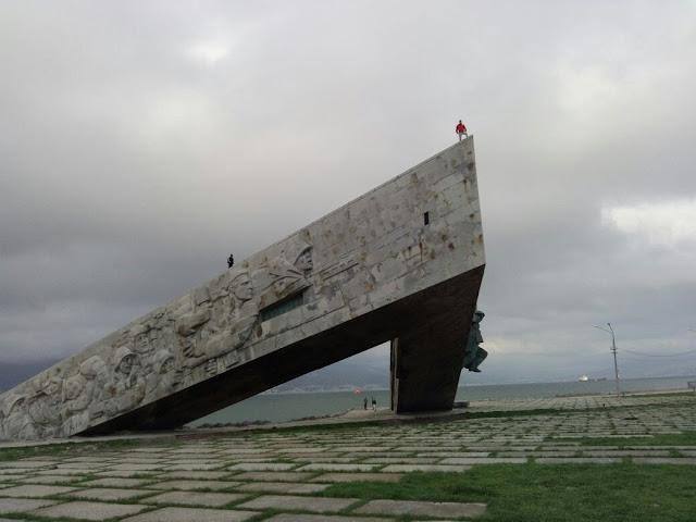 Новороссийск, Малая земля - мемориал, Андрей Думчев, руффинг, ruffing