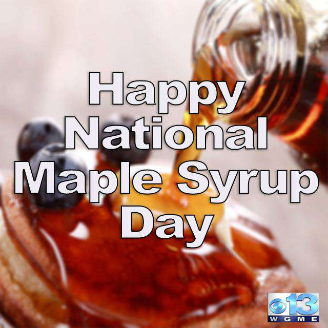 National Maple Syrup Day Wishes Awesome Picture