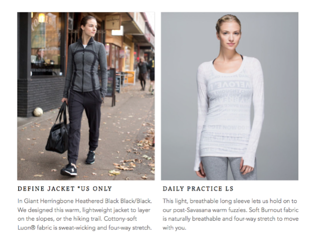 lululemon herringbone define