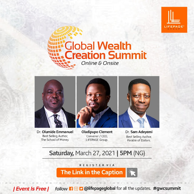 The Global Wealth Creation Summit 2021 is going to bring an immeasurable wealth of knowledge to all globally.