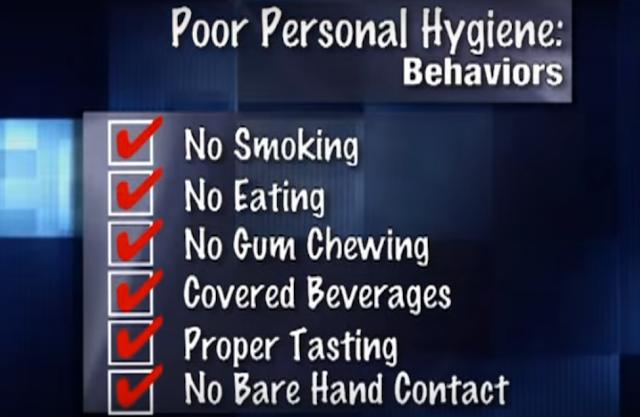 poor hygiene