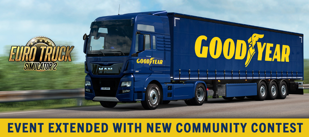 SCS Software's blog: Goodyear event extended with community