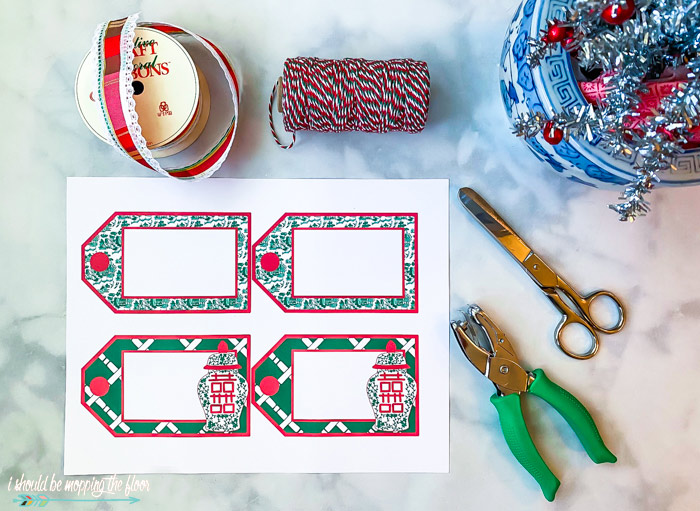 Free Printable Chinoiserie Chic Gift Tags
