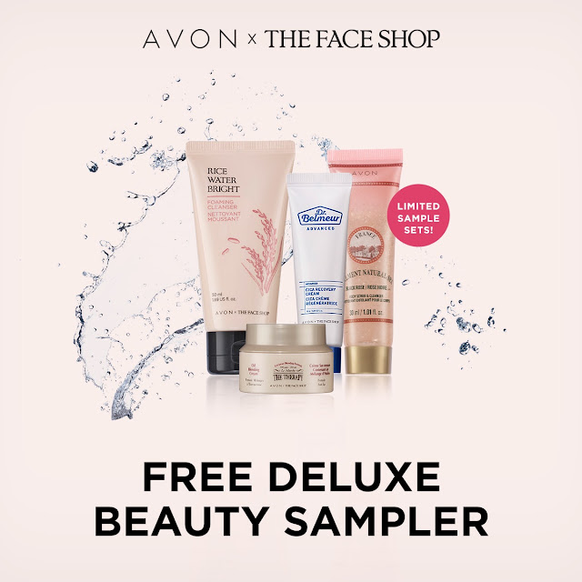 avon catalog free deluxe beauty sampler