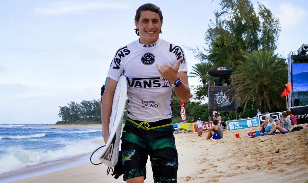 53 Vans World Cup of Sufing 2014 Leonardo Fioravanti Foto ASP