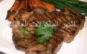 طريقه عمل شرائح اللحم بالكريمه