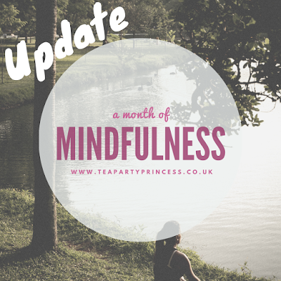 A Month of Mindfulness - Check In 1