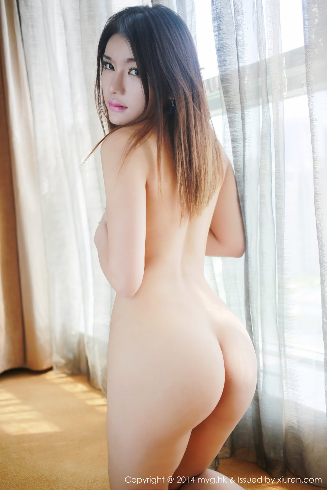 0030 - Beautiful Naked Girl Model MYGIRL VOL.35