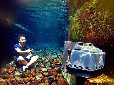 Underwater Telagasari