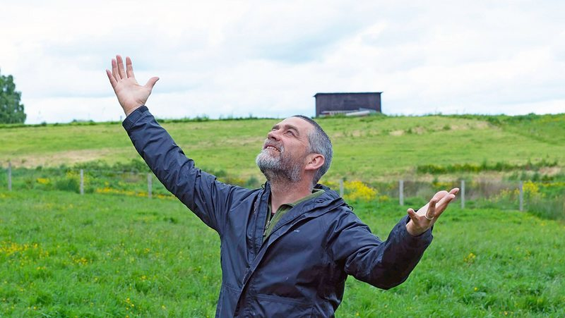 Felipe Braun detalla sus 10 meses viviendo en el sur