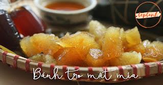 Cách làm bánh tro mật mía thanh mát ngọt lịm