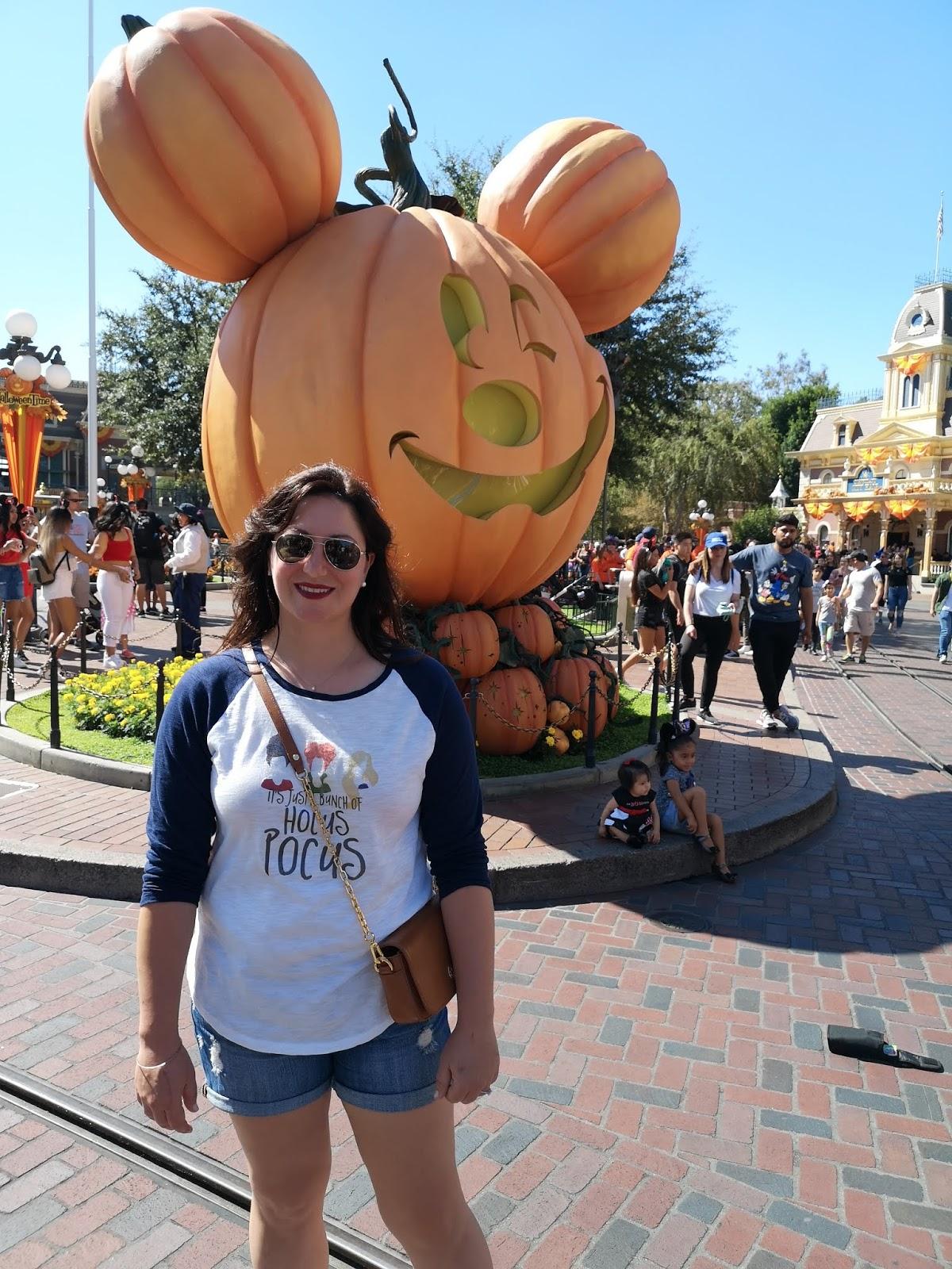 Disneyland & California Adventure During Halloween