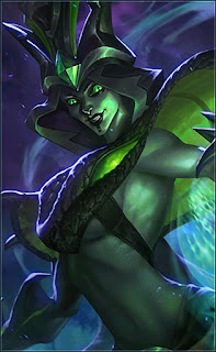 Vexana Toxic Kiss Heroes Mage of Skins V1