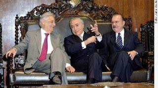 Temer, FHC e Sarney pedem paz pelas vias constitucionais