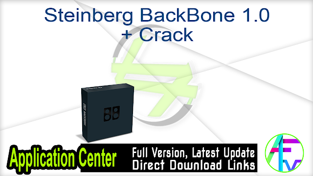 Steinberg BackBone 1.0 + Crack
