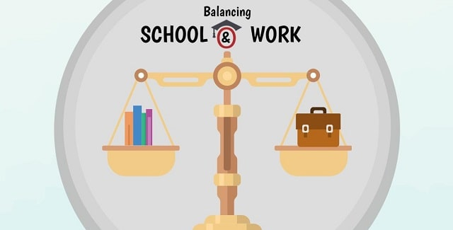 how to balance school and work college classes career balancing