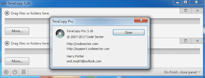 Screenshot TeraCopy Pro 3.26 Full Version