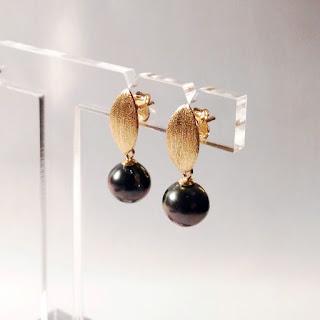 tahiti pearl earrings