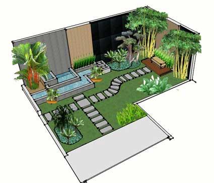 desaint taman dan renovasi taman rumah | jual tanaman hias