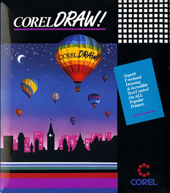CorelDRAW 1.0 package