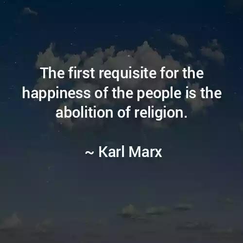 Karl Marx sayings