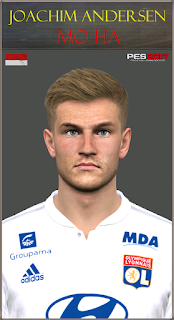 PES 2017 Faces Joachim Andersen by Mo Ha