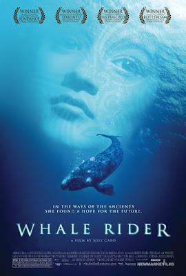 Póster de 'Jinete de ballenas'