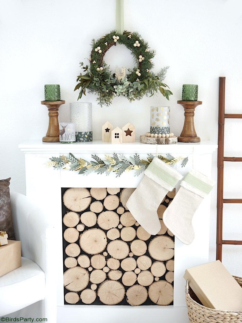 Décorations de Noël DIY Nature - décorations, projets et artisanat rapides, faciles, peu coûteux et écologiques!