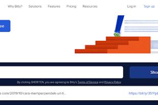 Cara Memperpendek URL Link dengan Bit.ly