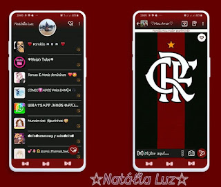 Flamengo Theme For YOWhatsApp & Fouad WhatsApp By Natalia luz