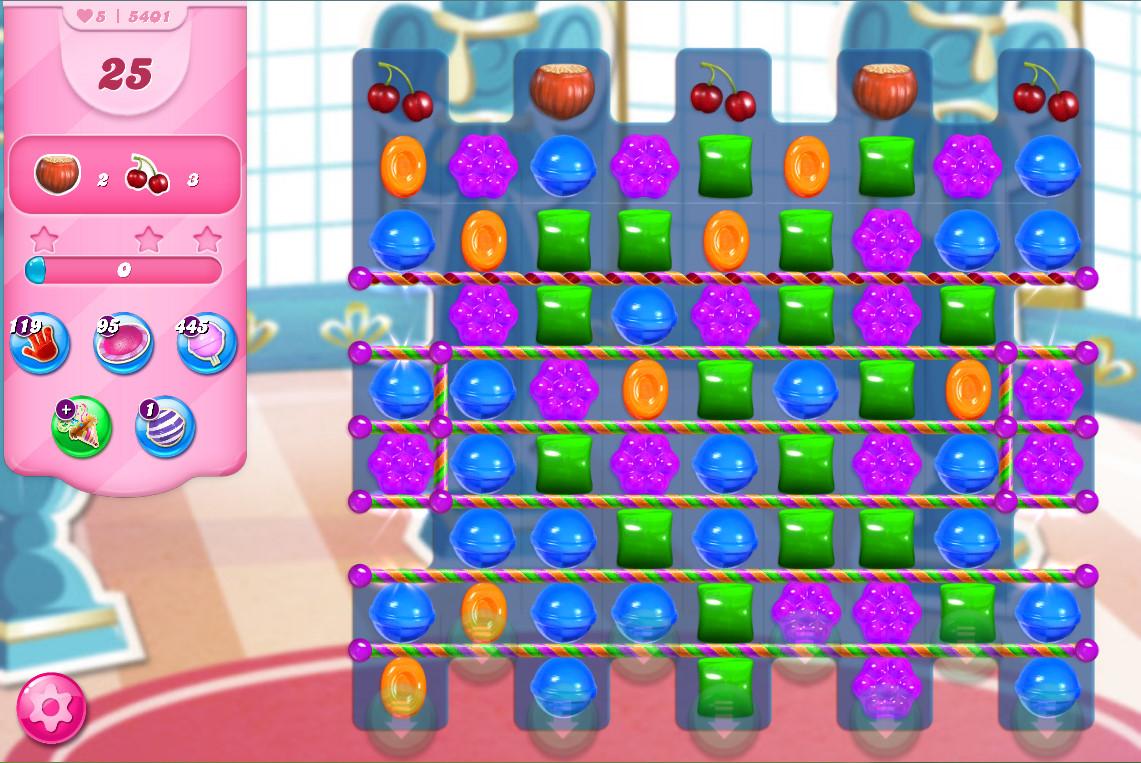 Candy Crush Saga level 5401