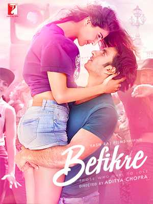 Poster Befikre 2016 Full Movie Free Download Hindi 300Mb