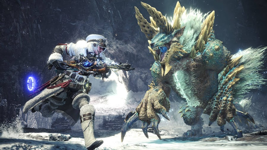 monster hunter world iceborne horizon zero dawn the frozen wilds crossover event dlc aloy ps4 action rpg capcom guerrilla games