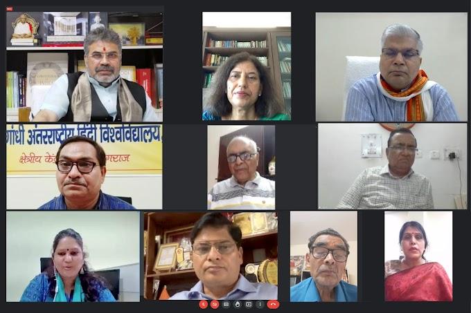 प्रेमचंद की रचनाओं के केंद्र में स्वराज, स्वदेशी, स्वशासन : प्रो. रजनीश कुमार शुक्ल