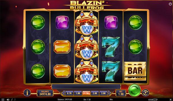 Main Gratis Slot Indonesia - Blazin' Bullfrog Play N GO