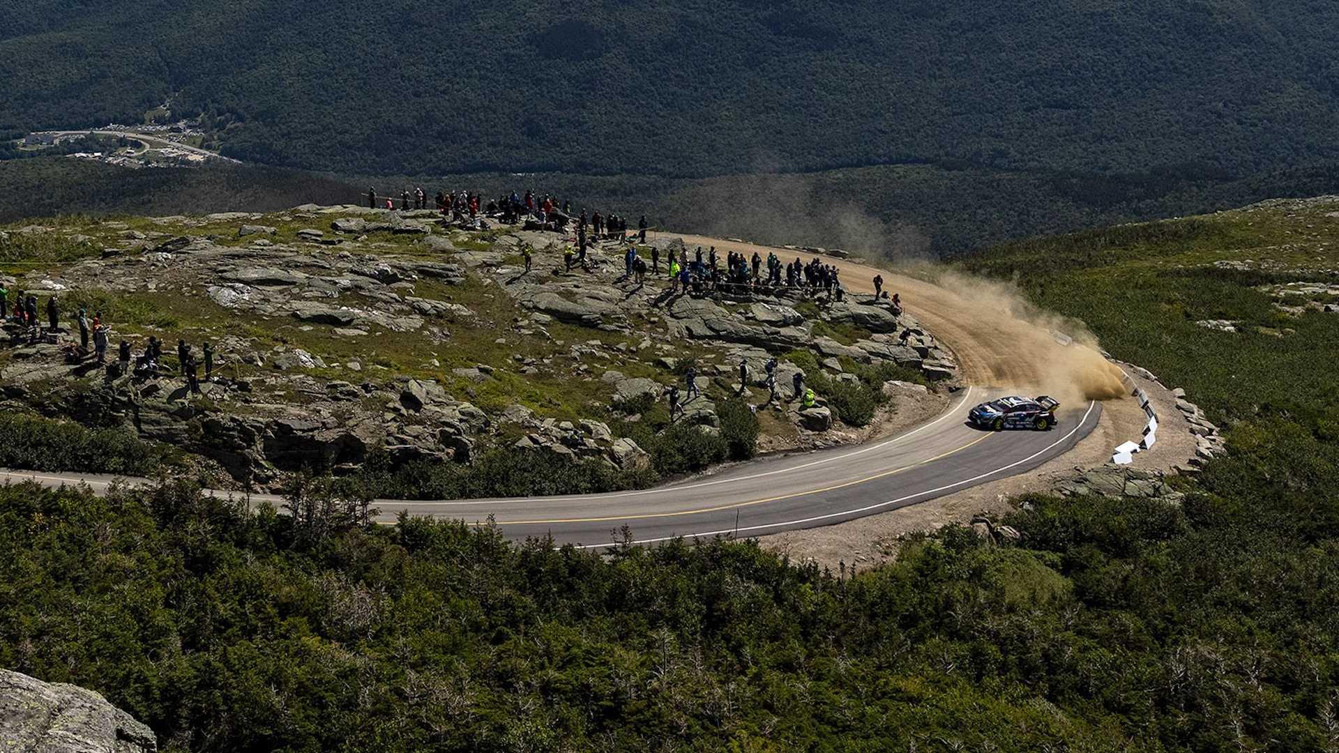 ترافيس باسترانا يتمكن من إحراز توقيت جديد في سباق تسلق جبل واشنطن