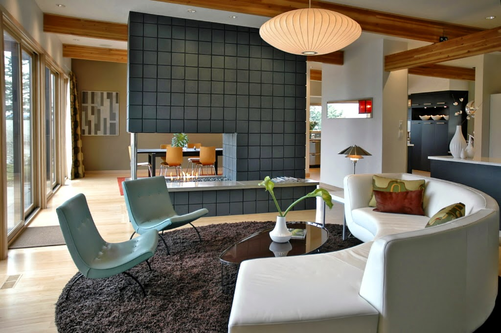 Eye for design decorating in mid century modern style - Mid century modern interior ...