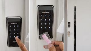 Khóa cửa điện tử chất lượng khác biệt khóa cửa thông thường
