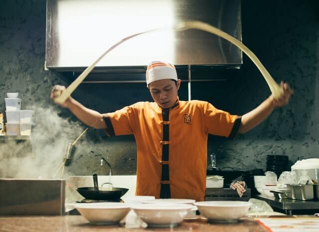 chines na cozinha