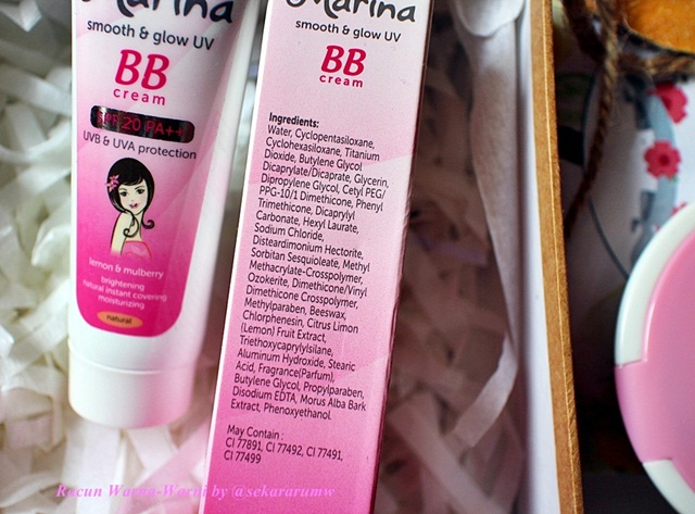 BB Cream Ingredients