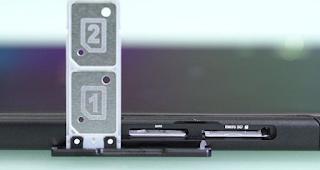 sony versi global biasanya memiliki fitur dual sim card