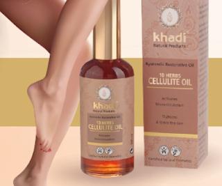 Scapa de celulita cu ulei Khadi cumpara aici