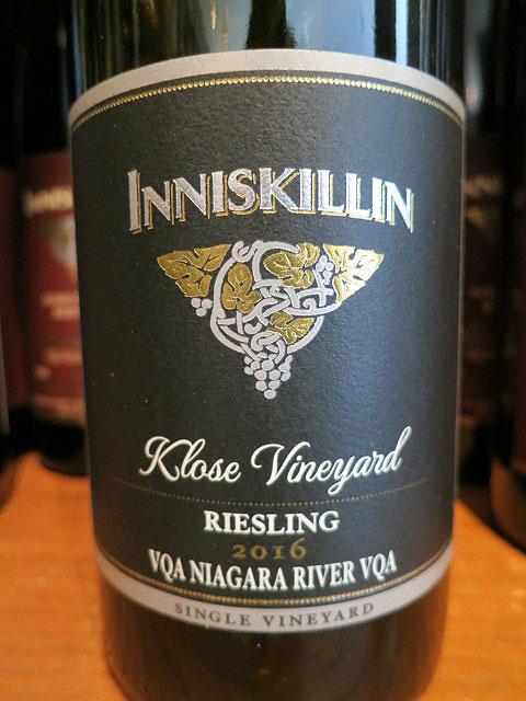 Inniskillin Klose Vineyard Riesling 2016 (88 pts)
